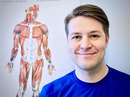 Fysioterapeutti Petri Huttu